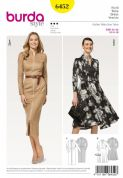 6452 Burda Pattern Dress